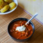 Tomato Curry Stew with Chickpeas and Potatoes