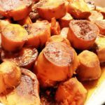 Roasted Sweet Potatoes with Brown Sugar and Cinnamon