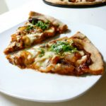BBQ Chicken Pizza with Caramelized Onions