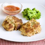 Crab Cakes with a Creole Brown Butter Sauce