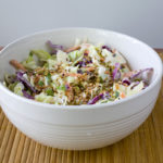 Roasted Sesame and Ginger Coleslaw
