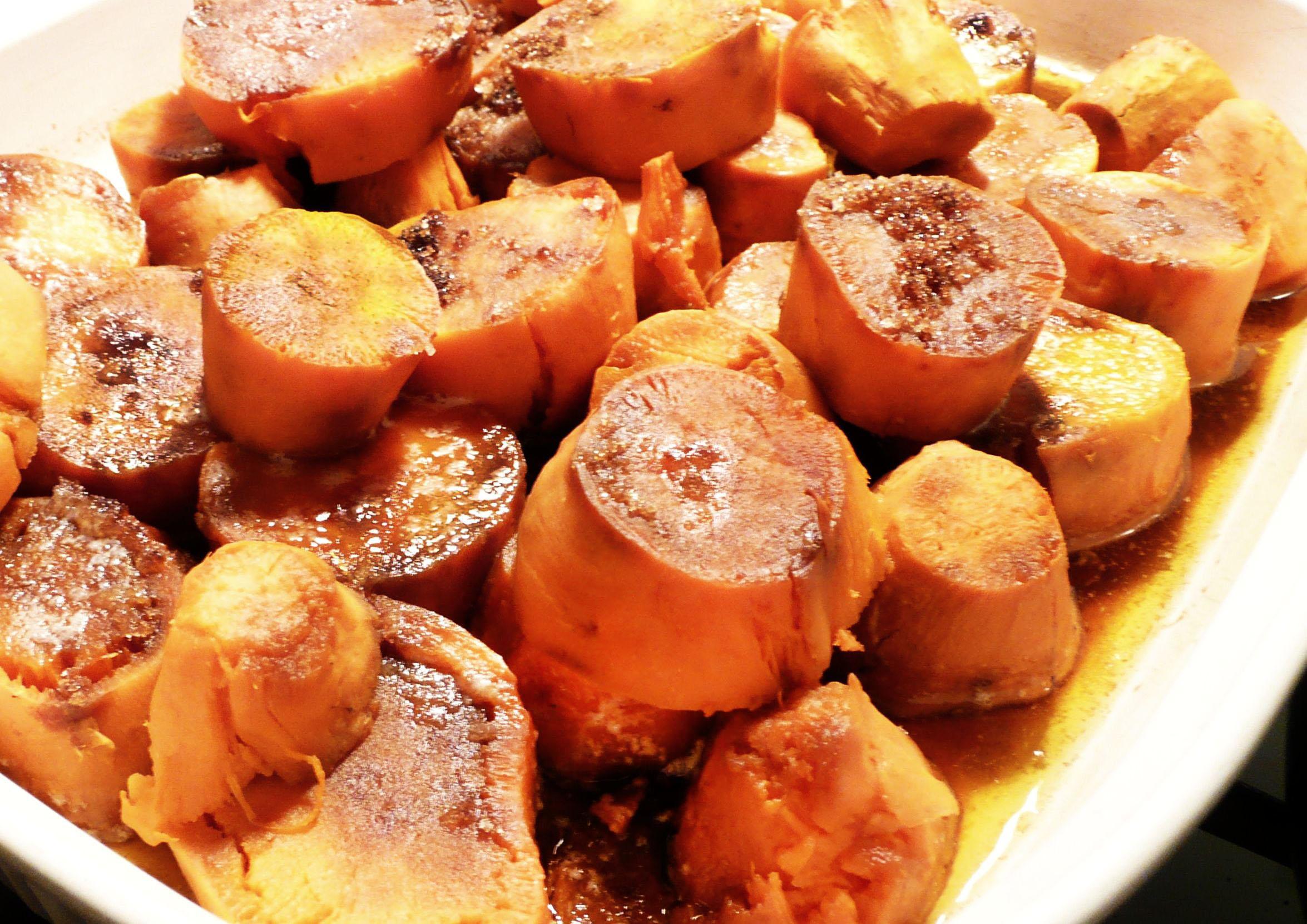 Cinnamon Roasted Sweet Potatoes Recipes — Dishmaps