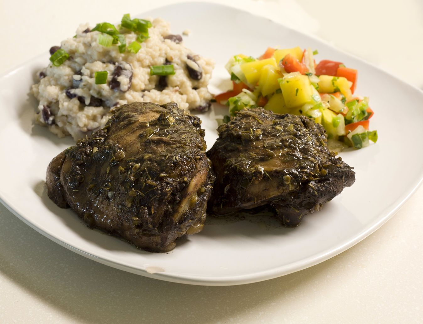 Jerk Chicken With Cucumber Relish Recipes — Dishmaps