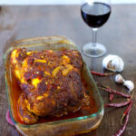 Roasted Moroccan Chicken with Preserved Lemons