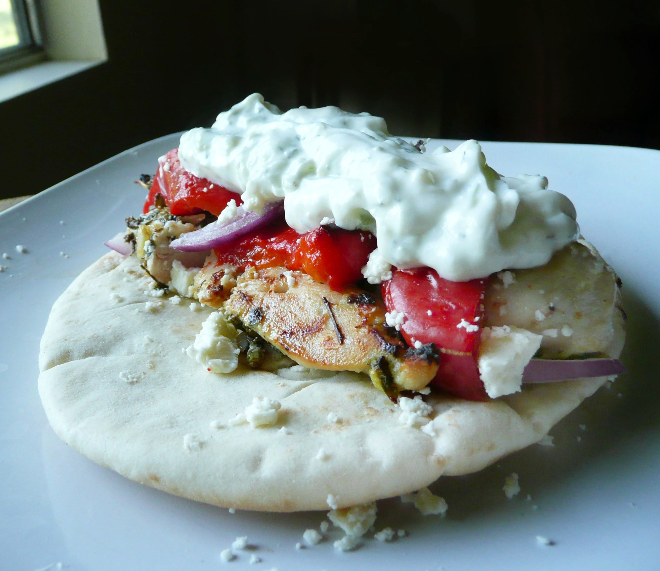 Chicken Souvlaki and Gyros - The Partial Ingredients
