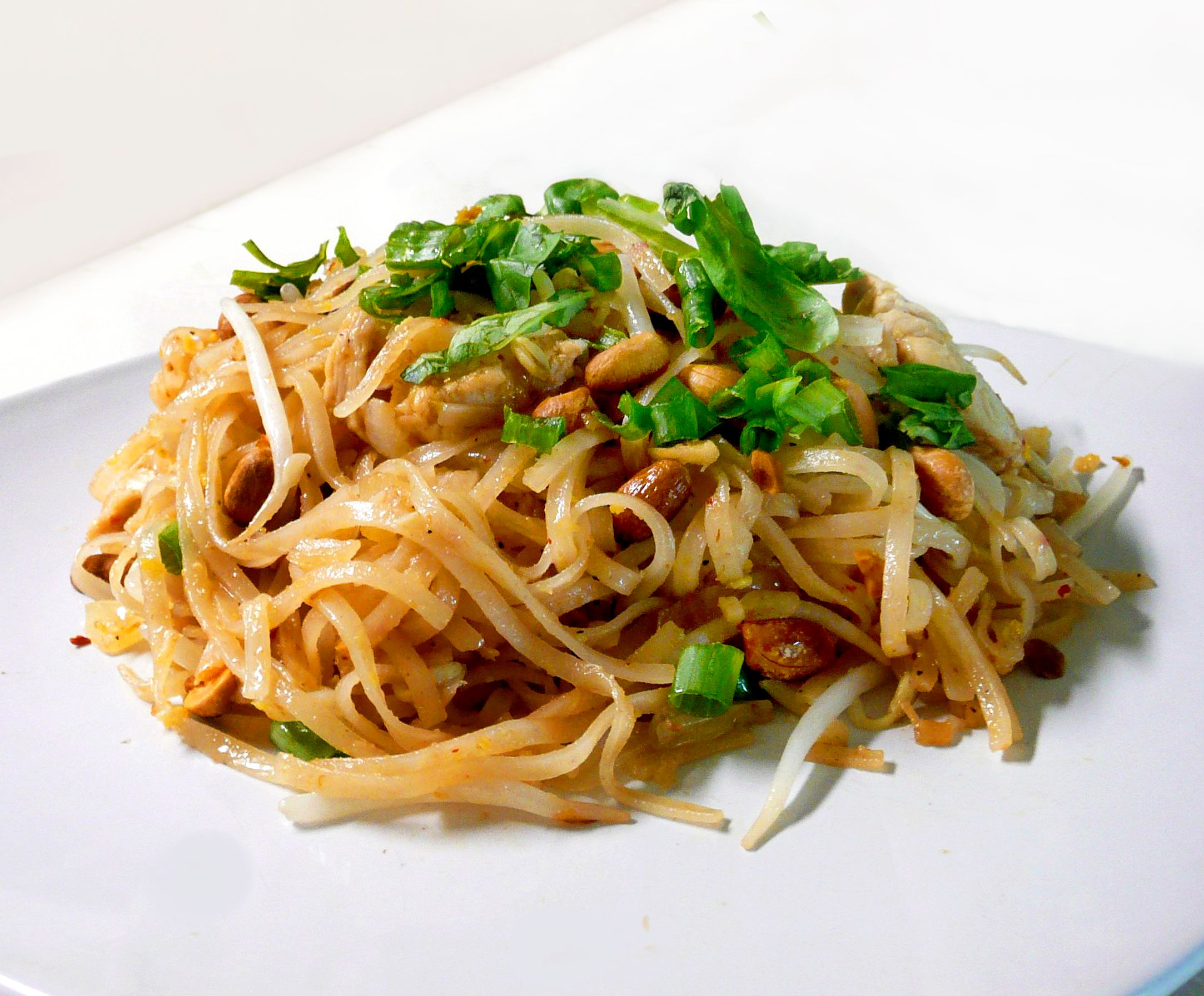Pad Thai Noodles Pad thai is a dish made with