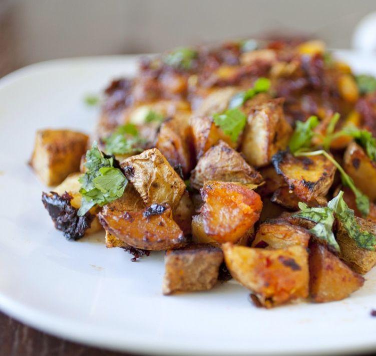 Roasted Moroccan Potatoes