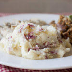 Mashed Potatoes with Goat Cheese and Dill