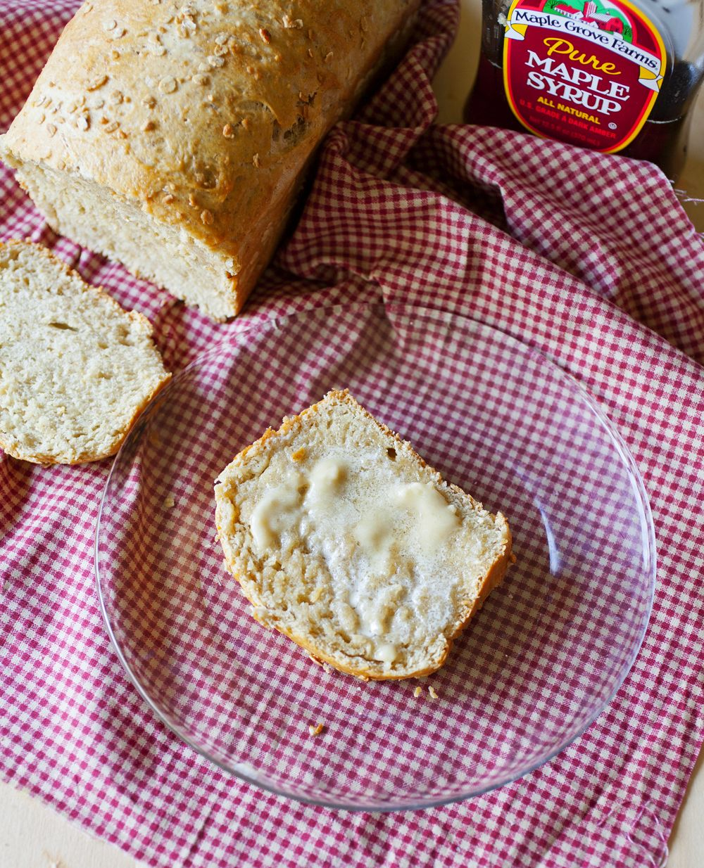 Maple Oat Bread | The Partial Ingredients