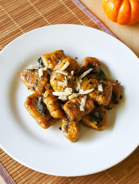 Pumpkin Gnocchi In A Brown Butter And Sage Sauce Recipes — Dishmaps