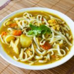 Chicken Kare Udon (Japanese Curry Udon Soup)