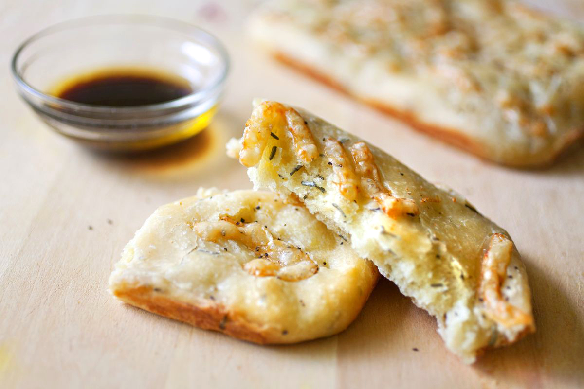 Parmesan and Rosemary Focaccia Bread - The Partial Ingredients
