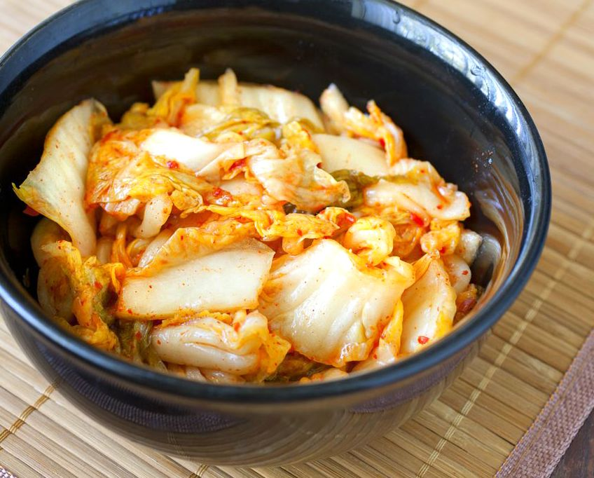 Kimchi (Korean Fermented Cabbage) - The Partial Ingredients
