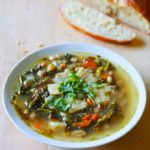 White Bean, Kale and Pancetta Soup