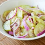 Pickled Red Onion and Cucumber Relish