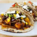 Achiote Roasted Butternut Squash Tacos