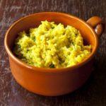 Kaha Bath (Sri Lankan Yellow Rice)