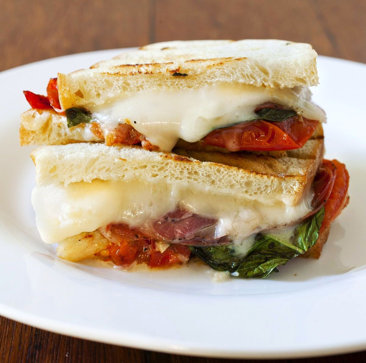 Coppa and Manchego Cheese Sandwich with Roasted Tomatoes | The Partial ...