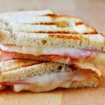 Prosciutto, Manchego and Fig Jam Sandwich