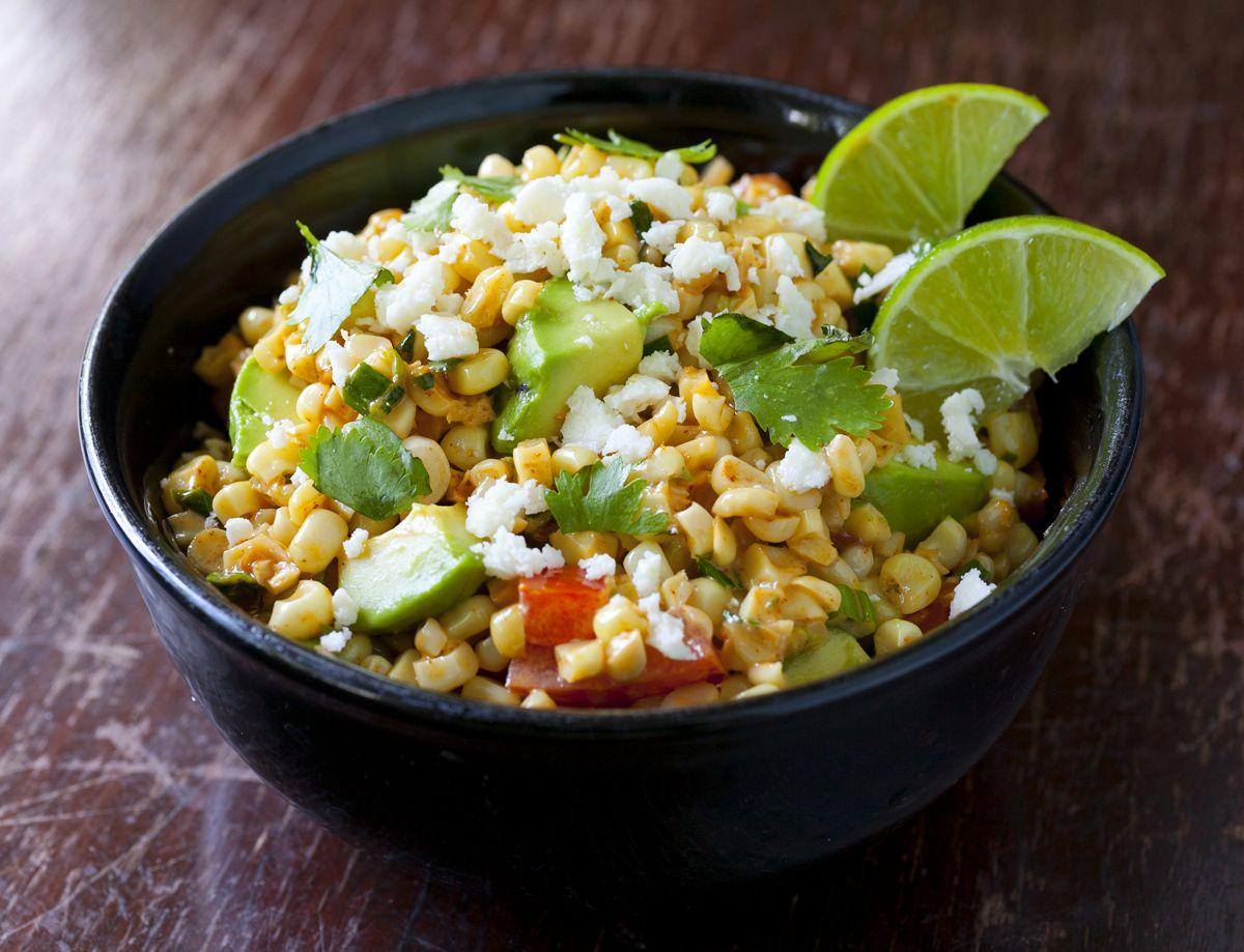 corn esquites salad