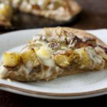 Rosemary Potato Pizza with Caramelized Onions and Fontina