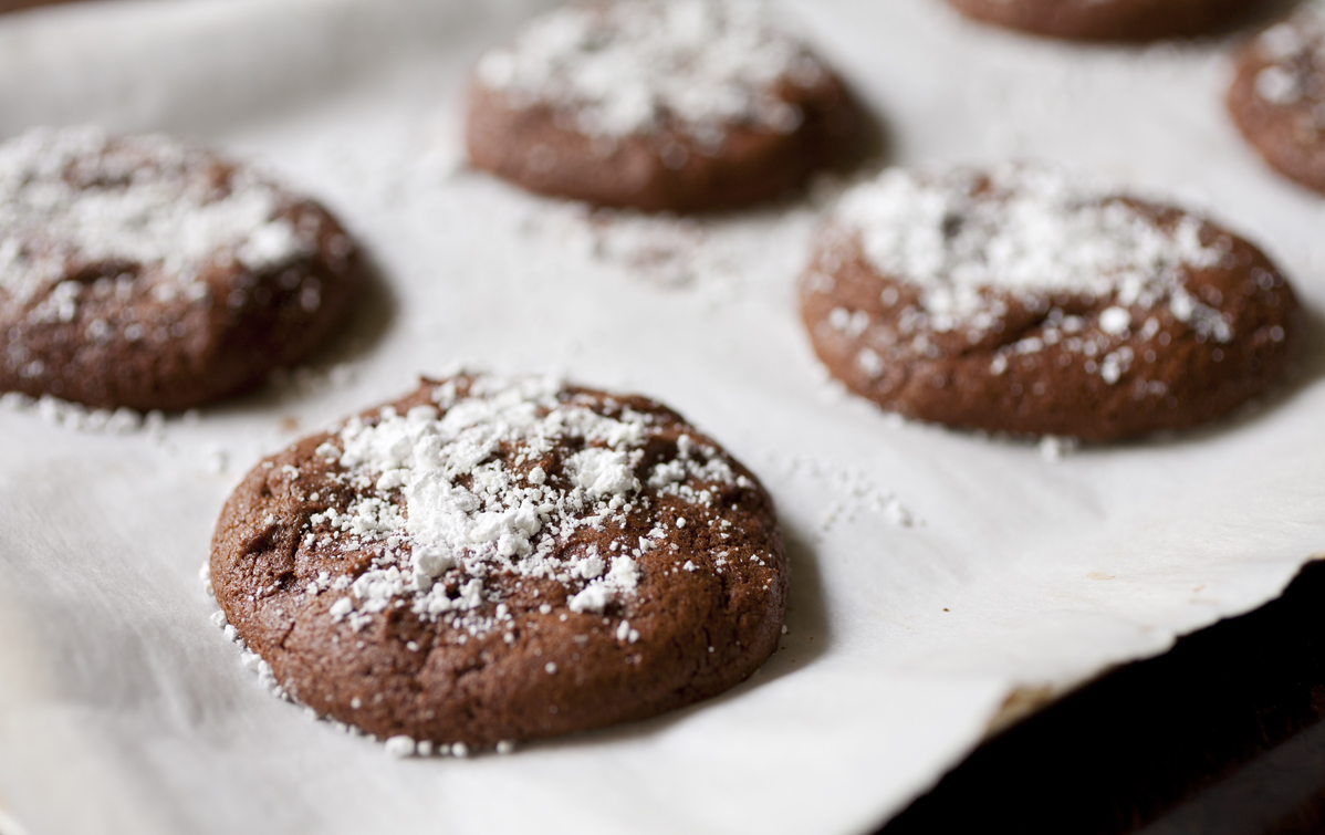 Salted Caramel Stuffed Chocolate Cookies - The Partial Ingredients