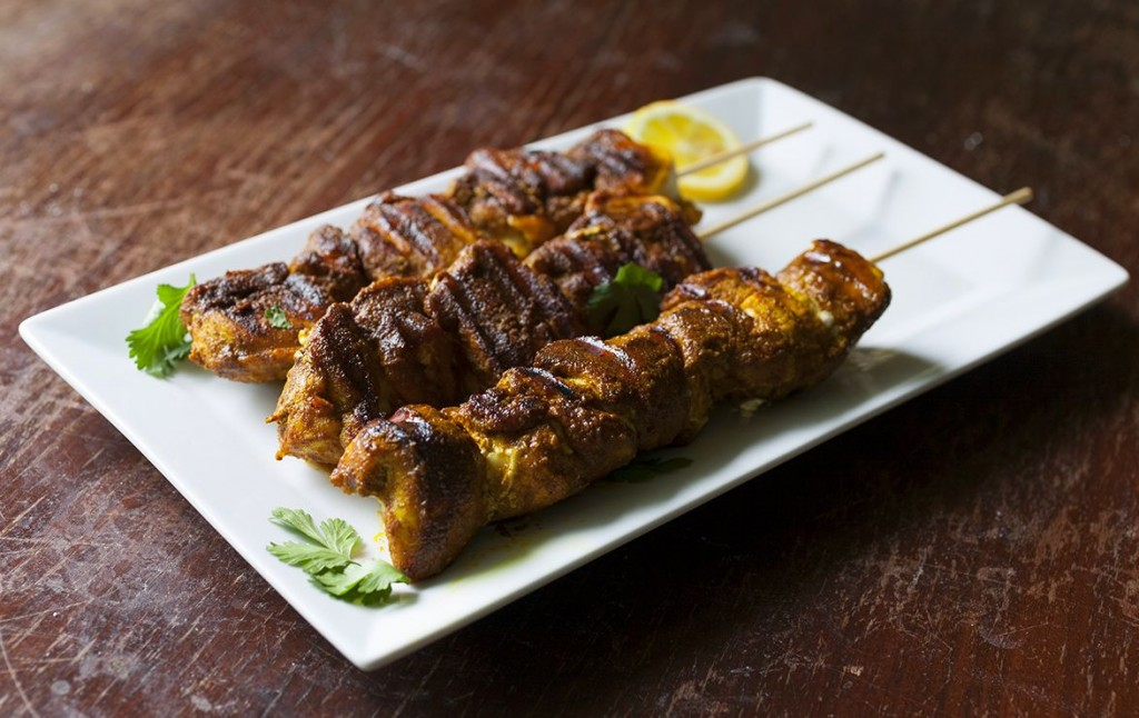 Grilled Moroccan Chicken Skewers