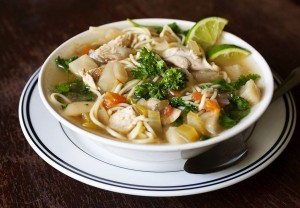 Turkish Chicken Noodle Soup