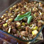 Italian Sausage and Apple Stuffing