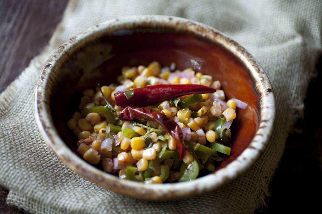 Pickled Corn Salsa