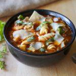 Italian Chicken Parmesan Soup