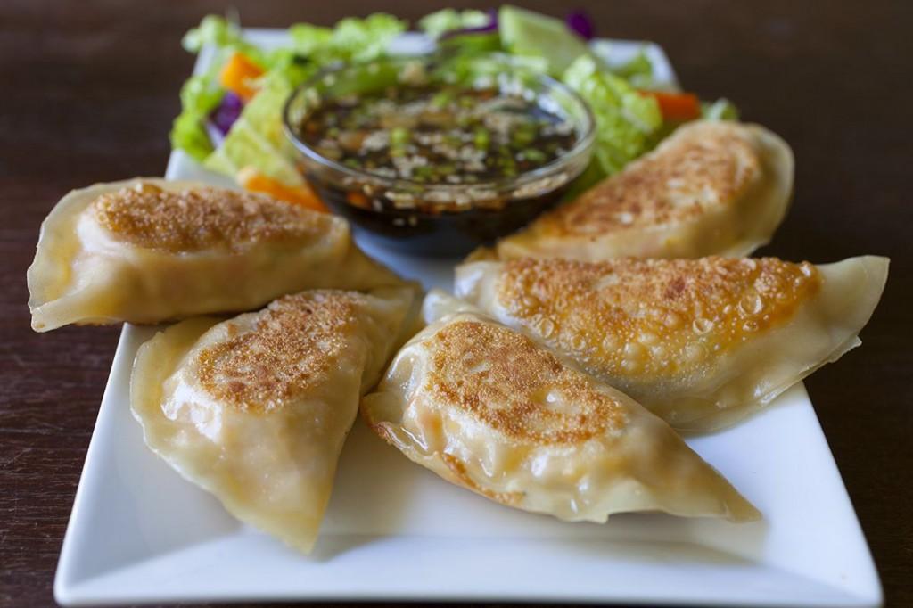 Tofu Kimchi Dumplings7`5