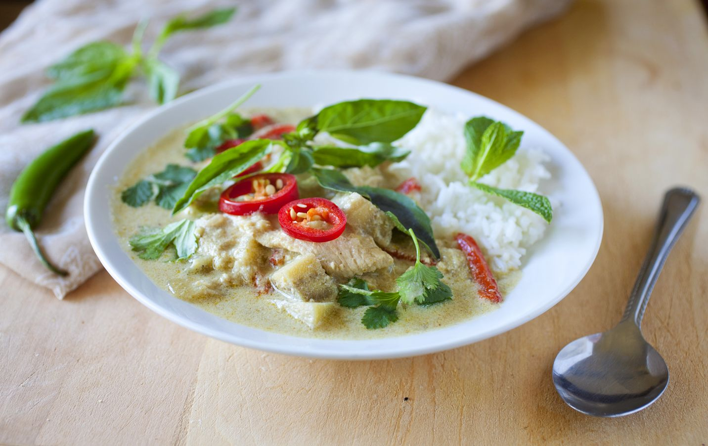 Thai Green Curry Recipe — Dishmaps