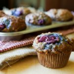 Blackberry Banana & Oat Breakfast Muffins