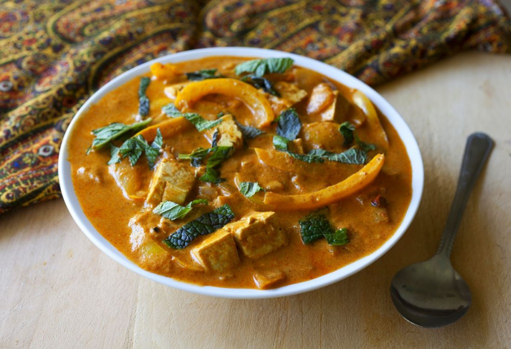 Thai Panang Curry with Tofu - The Partial Ingredients