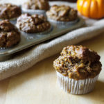 Pumpkin, Banana & Oat Breakfast Muffins