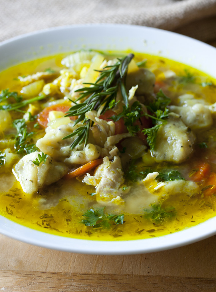 Chicken and Dumpling Soup 3