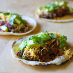 Classic Beef Tacos with Chipotle Tomato Salsa