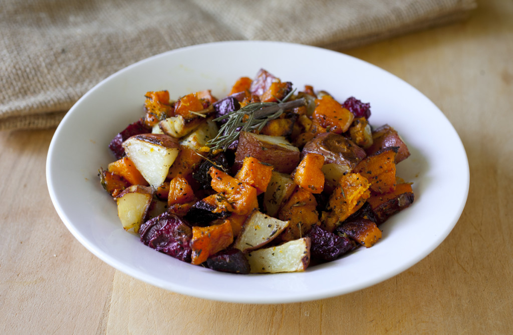 Roasted Root Vegetable and Butternut Squash