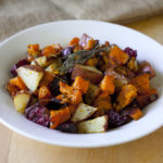 Roasted Winter Vegetables with Butternut Squash