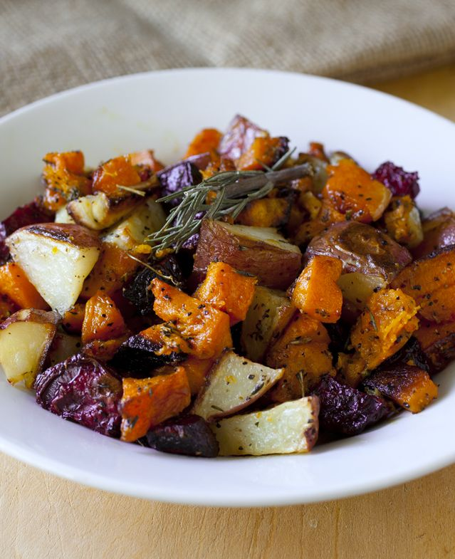 Roasted Root Vegetable and Butternut Squash 2