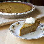 Pumpkin Pie with a Graham Cracker Crust
