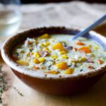 Wild Rice Soup with Bacon and Butternut Squash