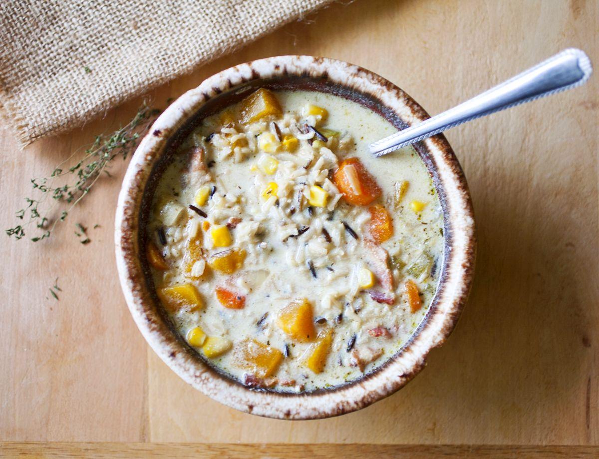 Wild Rice Soup 2