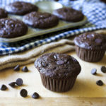 Double Chocolate Chip Buttermilk Muffins