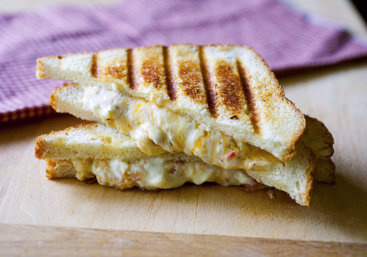 Pimento grilled cheese sandwich 2