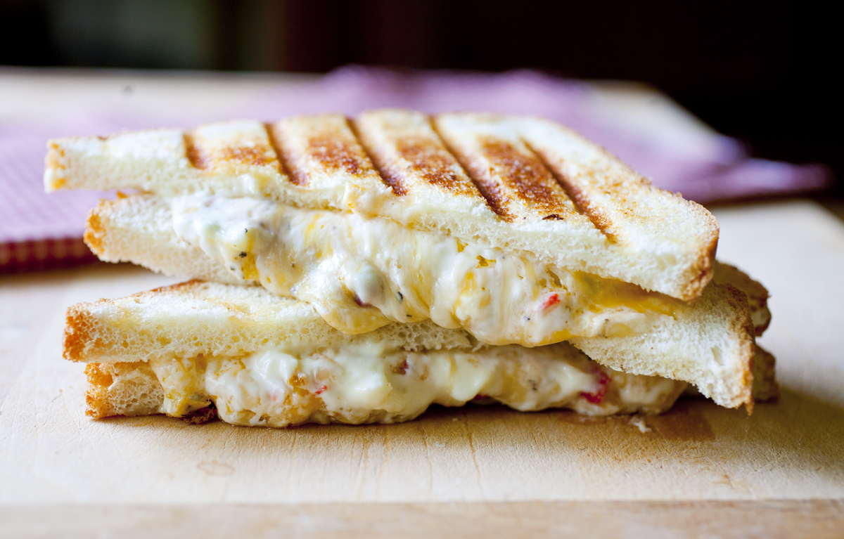 Pimento Grilled Cheese Sandwich - The Partial Ingredients