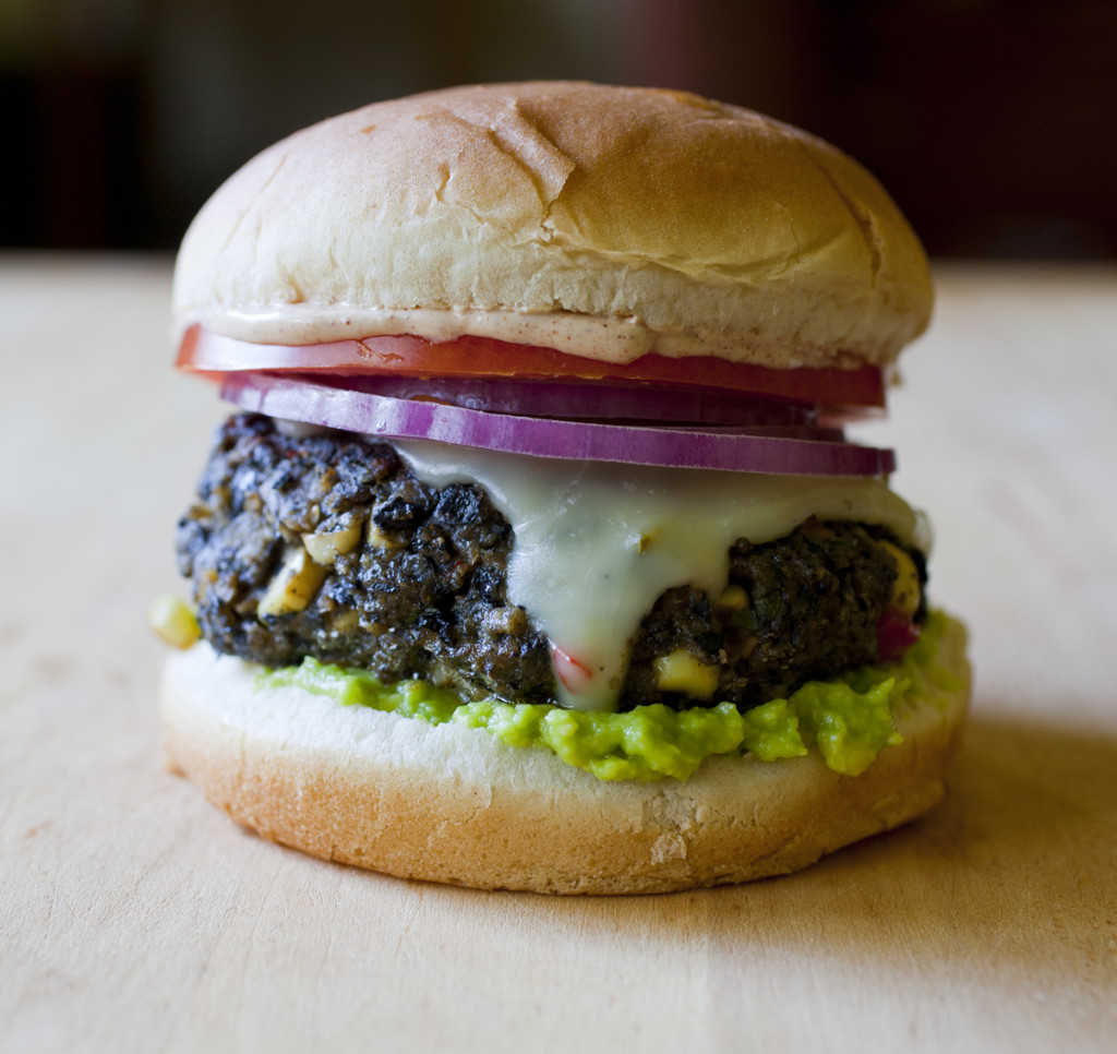 ... could be more summery than black bean burgers don t give the bean part