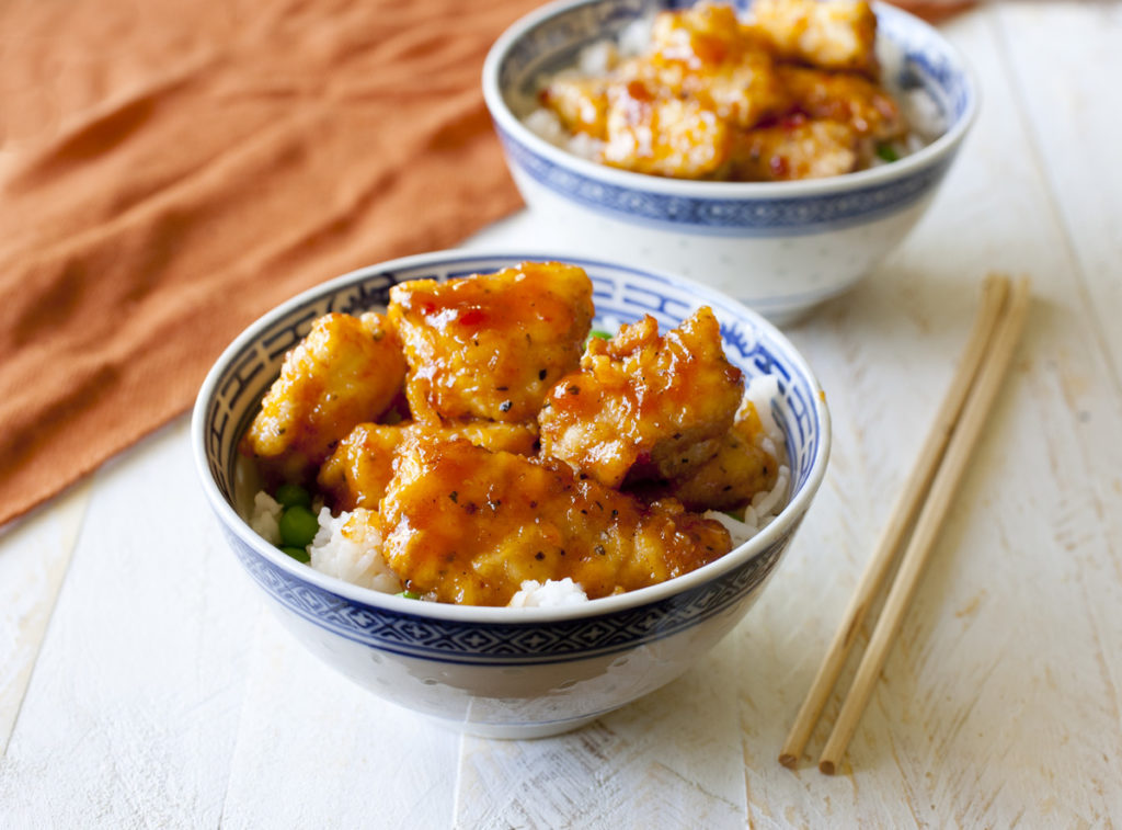 Take Out Style Chinese Orange Chicken