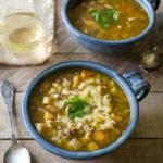 Slow Cooker Beef & Winter Vegetable Soup